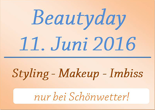 Beautyday 11. Juni 2016 in Anthering